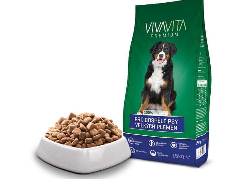 Vivavita Granule pro dospělé psy velkých plemen 15kg