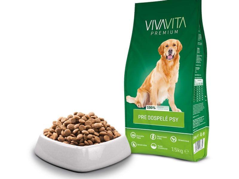 Vivavita Granule pro dospělé psy 15kg