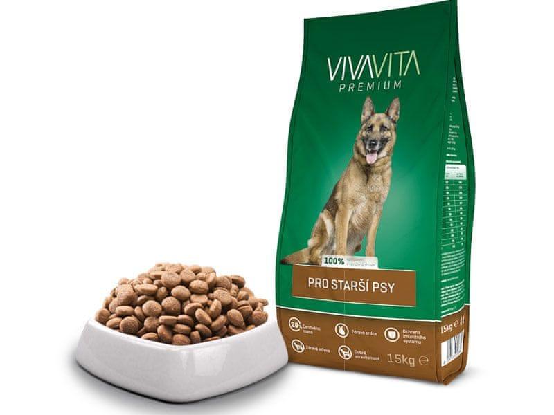 Vivavita Granule pro starší psy 15kg