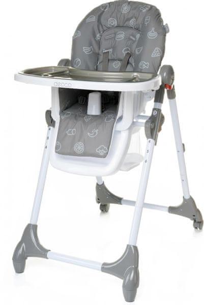 4Baby Židlička Decco šedá