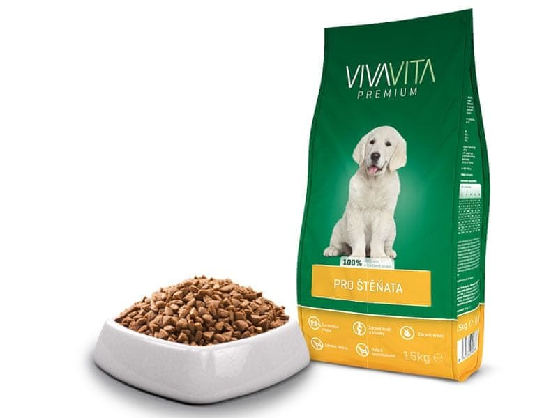 Vivavita Granule pro štěňata 15kg
