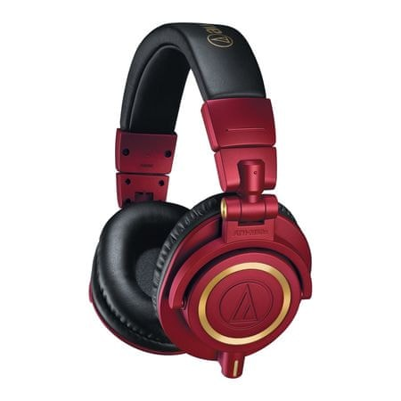 Audio-Technica M50xRD, červená