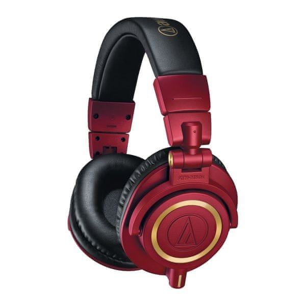 Audio-Technica M50xRD, červená