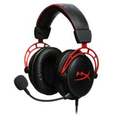 Kingston Gaming slušalke z mikrofonom HyperX Cloud Alpha, rdeče