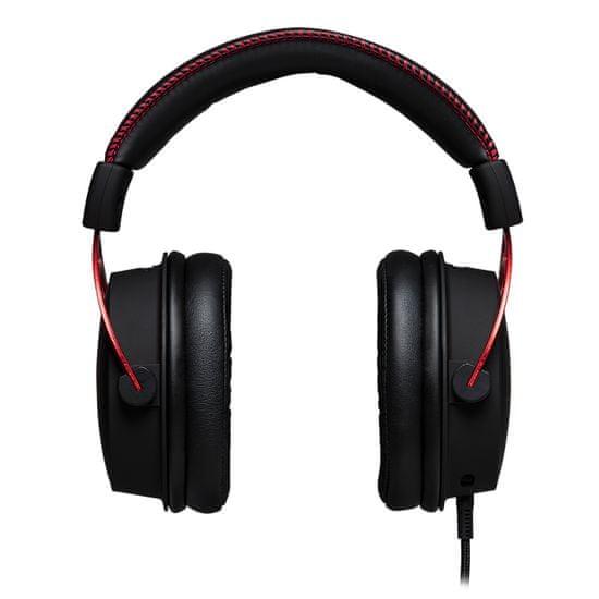 HyperX Gaming slušalke z mikrofonom HyperX Cloud Alpha, rdeče