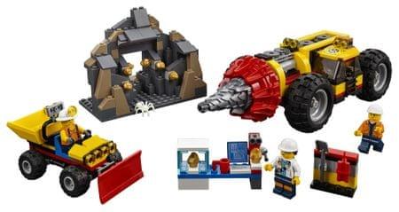 LEGO City Mining 60186 Rudarski vrtalnik