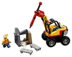 LEGO City Mining 60185 Rudarski cepilnik