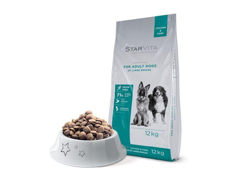 Starvita Granule pro dospělé psy obřích plemen 12kg
