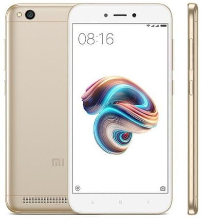 Xiaomi Redmi 5A, 2GB/16GB, Global Version, Gold