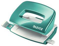 Mini děrovač Leitz NeXXt WOW 5060 ledově modrý 10 listů