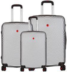 Sirocco T-1157/3 ABS Sada cestovních kufrů