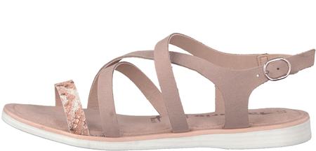 Tamaris sandały damskie 36 różowy