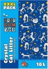 Huhubamboo silikonowy żwirek dla kota HUHU, 18 L