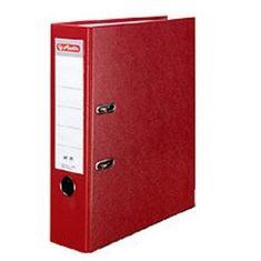 Herlitz registrator maX.file protect A4, 80 mm, rdeč