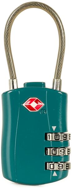Rock Lankový TSA kódový zámek, zelená