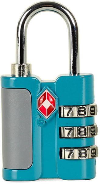 Rock TSA kódový zámek TA-0005, modrá