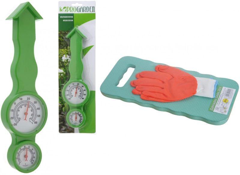 Previosa Meteorologická stanice + podložka na klečení a rukavice