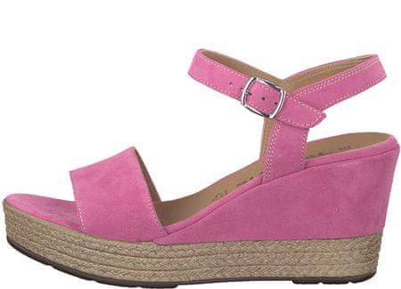 Tamaris sandały damskie 36 różowe