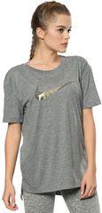 Nike ženska majica DB Boyc Art, siva