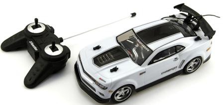 Teddies Auto RC 25 cm plast zrýchľujúce 1:18 biela