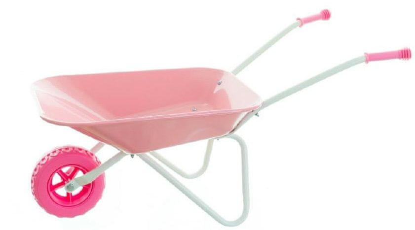 Yupee Plechové kolečko velké růžové - zánovní