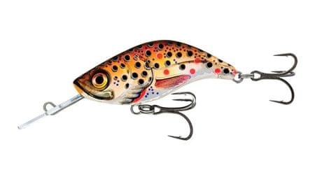 Salmo Wobler Sparky Shad Sinking Brown Holographic Trout 4 cm, 3 g