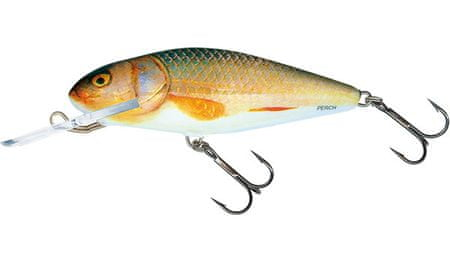 Salmo Wobler Perch Deep Runner Real Roach 8 cm, 14 g