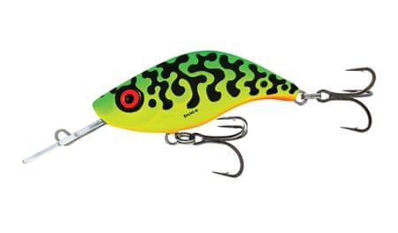 Salmo Wobler Sparky Shad Sinking Green Tiger 4 cm, 3 g