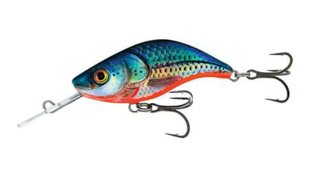 Salmo Wobler Sparky Shad Sinking Blue Holographic Shad 4 cm, 3 g