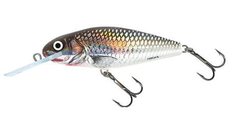 Salmo Wobler Perch Deep Runner Holographic Grey Shiner 8 cm, 14 g