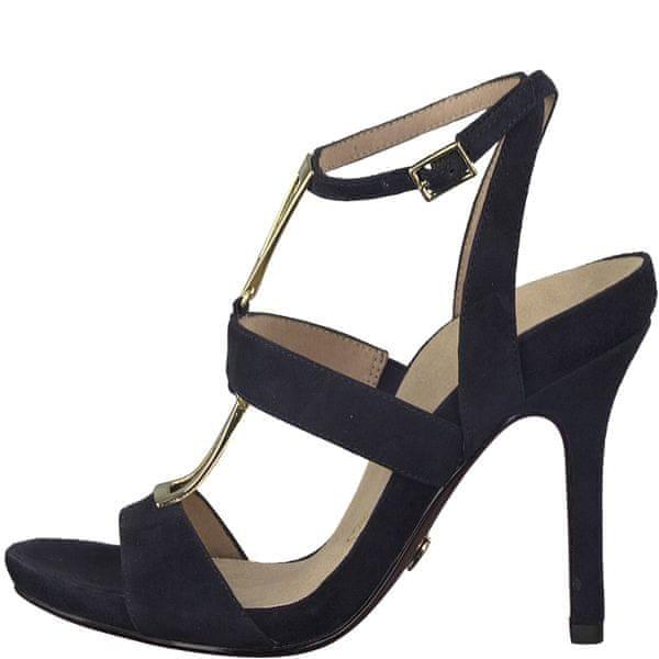 Tamaris dámské sandály 36 tmavě modrá