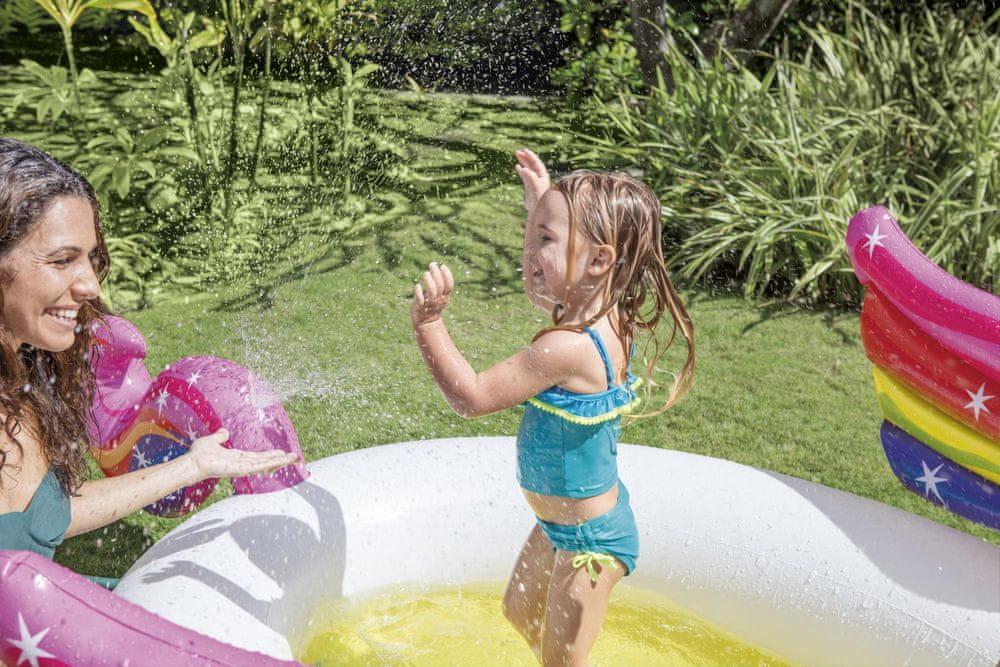 Intex 57441 Dětský bazén jednorožec