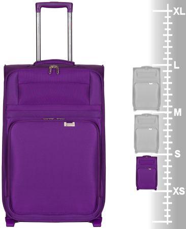 2305dd8cd8ae5 Walizka Aerolite T-9515/3-S, Purple | MALL.PL