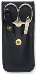Kellermann set za manikuro L56771 MC N, usnje, črn