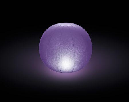 Intex napihljiv LED balon, 23 x 22 cm