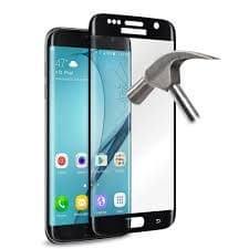 Puro zaščitno steklo Galaxy S7 Edge črno