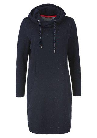 s.Oliver dámské šaty 38 tmavě modrá