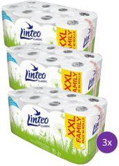 LINTEO Classic Toaletní papír 3 x 16 rolí