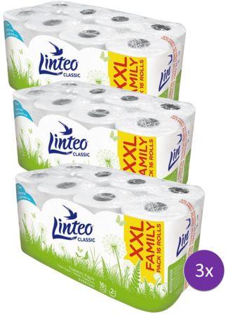 LINTEO classic papier toaletowy – 3 x 16 szt