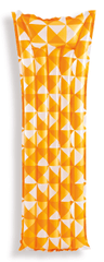 Intex napihljiva blazina, 183 x 69 cm - oranžna