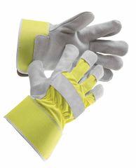 Červa Pracovné rukavice Curlew HiVis žltá  10