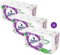 LINTEO Satin toaletni papir, 3-slojni, 3 x 16 rolic