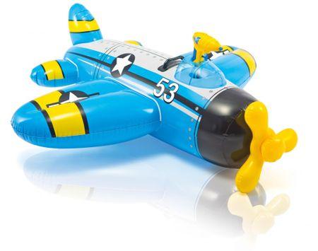 Intex samolot nadmuchiwany - niebieski