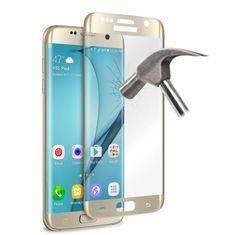 Puro zaščitno steklo Galaxy S7 Edge zlato