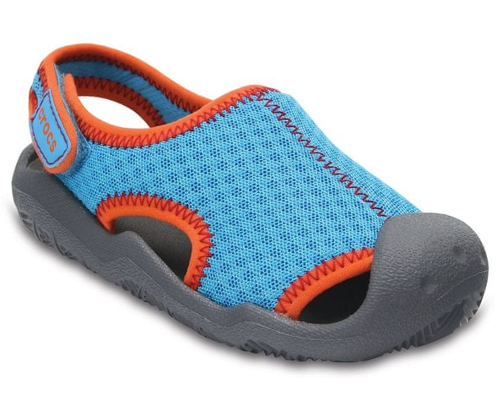 Crocs Swiftwater Sandal Kids Blue C10 27-28