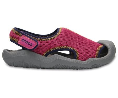 Crocs Swiftwater Sandal Kids Pink C7 23-24