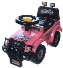 Teddies samochód dziecięcy Cross Country Pink