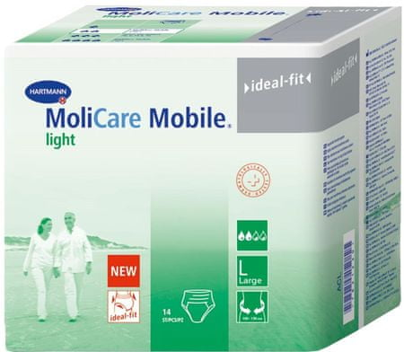 Hartmann spodnje hlače za inkontinenco MoliCare Mobile Light, L, 14 kosov