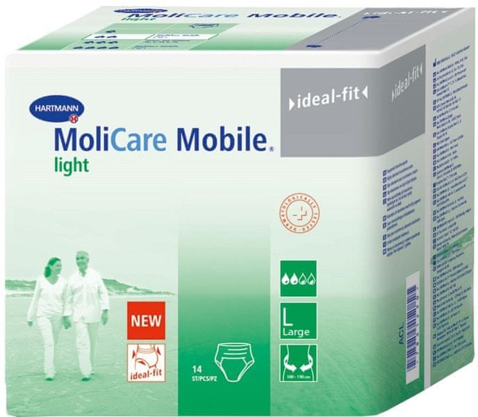 Hartmann Molicare Mobile Light Large 14 ks