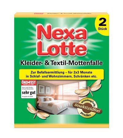 Nexa Lotte fermonska vaba za tekstilne molje, 2 kos